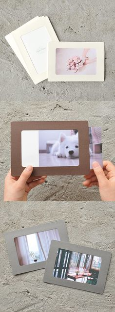 This paper frame is a simple, yet lovely photo frame to make your photos stand out. The warm colors and the cute design is a wonderful addition to your photos!