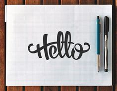 """Check out this @Behance project: """"Hand Lettering Vol. 1"""" https://www.behance.net/gallery/21672297/Hand-Lettering-Vol-1"""