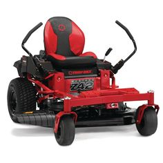 Troy-Bilt Mustang 42 in. 679 cc V-Twin OHV Engine Gas Zero Turn Riding Mower with Dual Hydrostatic Transmision and Lap Bar Control-Mustang - The Home Depot Best Zero Turn Mower, Zero Turn Lawn Mowers, Lawn Turf, Steel Deck, Decking Material, Riding Lawn Mowers, Rear Wheel Drive, Back Seat, Troy