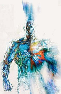 Dr. Manhattan by Bill Sienkiewicz