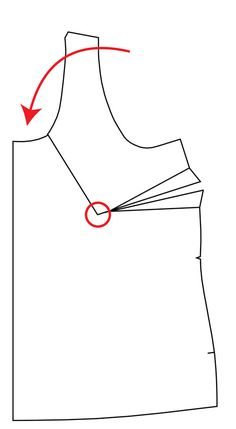 One of the most common pattern adjustments is to fix a gaping neckline. Luckily, it's easy to fix! Sewing Hacks, Sewing Tutorials, Sewing Crafts, Sewing Projects, Sewing Tips, Sewing Ideas, Dress Making Patterns, Pattern Making, Craft Patterns