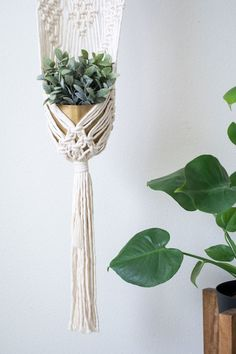 Set Of 4 At Any Cost Glorious Macrame Plant Hangers Hanging Plant Shelf Indoor Wall Planter Decorative Flower Pot Holder Boho Home Decor Home