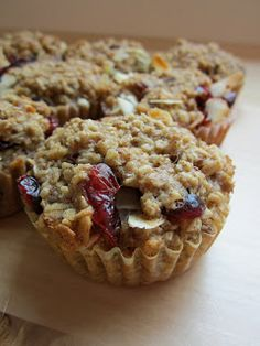 Individual Baked Oatmeal Cups