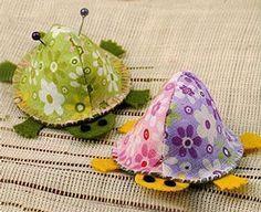 Cute turtle pincushion tutorial -