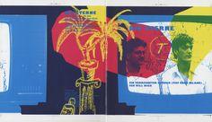 """Die Sterne, Single Cover, 1988, Fast Weltweit """"Ein verregneter Sommer (Tief über Irland)"""", """"Ich will Dich"""" Mirko Breder,Frank Spilker Rohbo..."""