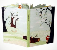 Forest Animals Journal with Stickers!