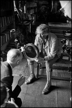 Inge Morath - England. 1961. Vita SACKVILLE-WEST.