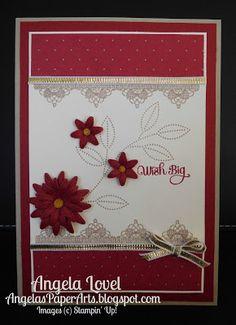 Angela's PaperArts: Grateful bunch wish big birthday card