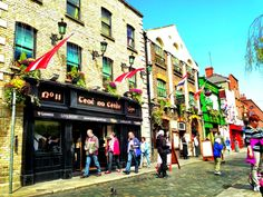 Temple Bar Square in Dublin