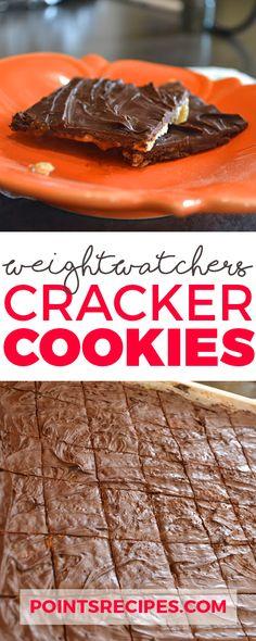Cracker Cookies (Weight Watchers SmartPoints)