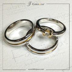 La tendencia en diseños de Argollas de Matrimonio ha implicado incluso alejarse de la tradición. Las parejas buscan anillos cómodos y originales, especialmente los diseños de anchura media y con combinación de colores y acabados. 👰💖💍 #ArgollasDeMatrimonioCali #ArgollasDeMatrimonioColombia #WeddingBandsColombia