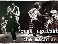 Rage Against The Machine. These guy's are hard, raw, energetic and LOUD. Rock n roll at its best. Nu Metal, Heavy Metal, Bruce Lee, Music Love, Rock Music, Nirvana, Rock N Roll, Bulls On Parade, Hip Hop
