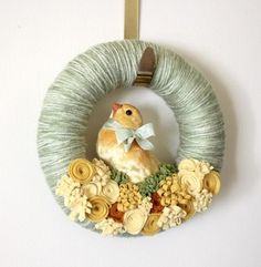 Easter wreath by joanne