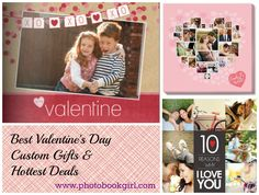 Best Valentine's Day Custom Gifts and Hottest Deals – PhotoBookGirl.com! Exclusive NEW Coupon Codes! #deals #coupons #photo