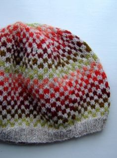 fair isle hat by kasey