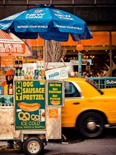 NYC Hot Dog Stand