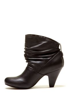 Marco Santi | Leather slouched ankle boot