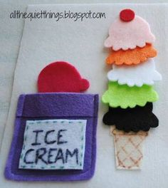 Colored Ice-cream