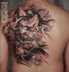 almost done #Prajnatattoo#tattoo#tattooed#tattooist#tattoostuff#tattoostagram#cooltattoos#Blackandgraytattoo#tattooartmagazine#tattoosnob#art#ink#arttattoo#samuraitattoo#Nirvana#asiantattoo#europeantattoo#zhiyongtattoo#chinesetattoo#traditionaltattoo#orientaltattoo#japanesetattoo#crazyytattoos#originaldesign#inkpainting