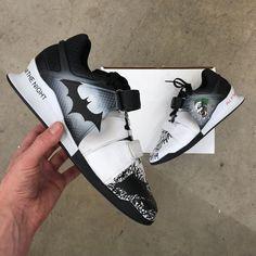 Custom Painted Batman Joker Reebok Legacy Weightlifting Shoes ee913ae3a