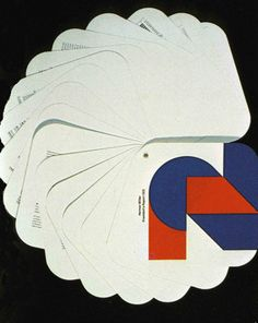 American Graphic Design    After Herman Miller became a public held company in 1970, the annual report was designed to reflect the company's adherence to innovation.