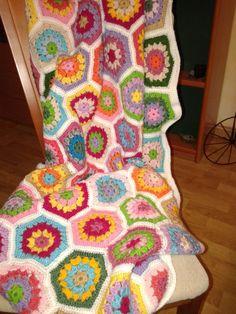 rombo a rombo Blanket, Crochet, Crocheting, Ganchillo, Blankets, Cover, Comforters, Knits, Chrochet