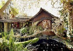 "This Culver City landmark is known among devotees of the form as a ""hobbit house,"" with its petite size, mock thatched roof and leaded glass windows."