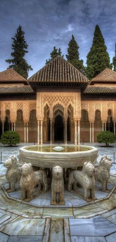 Al-Andalus ( الأندلس ‎) Alhambra Palace - Granada Spain Places Around The World, The Places Youll Go, Travel Around The World, Great Places, Places To Go, Beautiful Places, Around The Worlds, Magic Places, Madrid Barcelona
