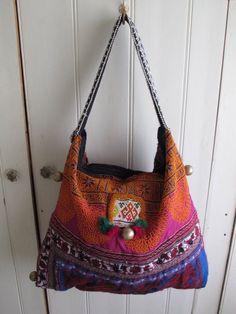 beautiful handmade banjara tribal bag by shopgypsyriver on Etsy, $150.00