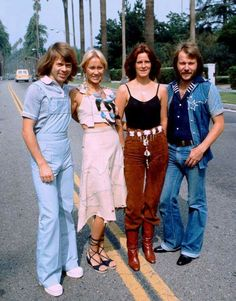 ABBA in the USA.