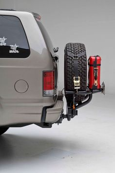 TireGate.com - Adventure Series OffSet, Universal Hitchgate - Dual Can Holder and Hi-Lift Mount available on this or other model(s)