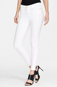 great white jeans | @nordstrom #nordstrom
