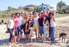 How we moved to Ibiza and set up Ibiza Inside and The Workout Club Ibiza