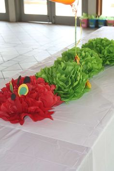 The Very Hungry Caterpillar Birthday Party Ideas | Photo 1 of 43 | Catch My Party