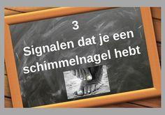 3 Signalen dat je een schimmelnagel hebt. #schimmelnagel #behandeling #voeten
