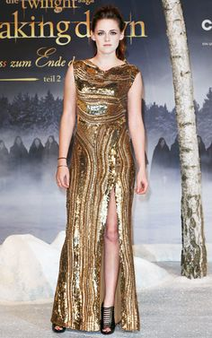Kristen Stewart rocked Elle Saab in Germany, red carpet, red carpet, dress, gown, evening, night out