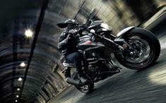 Download wallpapers Suzuki GSX-S750, 4k, 2018 bikes, biker, superbikes, new GSX-S750, Suzuki
