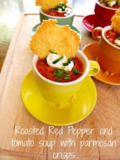 Roasted Red Pepper Tomato Soup a delicious recipe! #bebetsy #soup #recipe