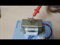 Como fabricar un multicargador de pilas, baterias y acumuladores de 1,5 hasta 30 volt dtu 2017 - YouTube
