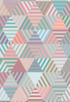 / triangle pattern /
