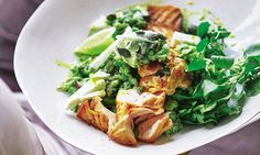 Joe Wicks Lean in 15: Grilled salmon with avocado, feta and pumpkin seeds | Daily Mail Online
