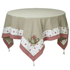 Lovely kitchen tablecloth