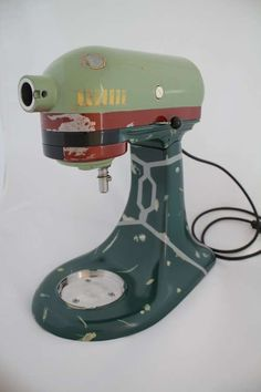 Tommyfilth Has Fashioned This Mixer to Look Boba Fett Inspired #geek trendhunter.com