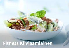 Fitness Kiiviaamiainen  Resepti: Nestle Fitness #kauppahalli24 #ruoka #resepti #kiivi
