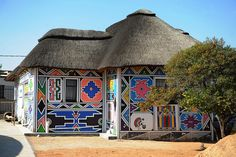Ndebele house | Flickr - Photo Sharing!