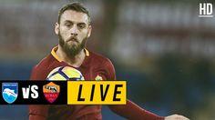 Pescara vs Roma LIVE / April 24, 2017 Watch Football, Football Match, Italian League, Match Highlights, April 24, Baseball Cards, Live, Sports, Military Police