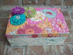Wooden Keepsake Box by EspeciallyMade on Etsy