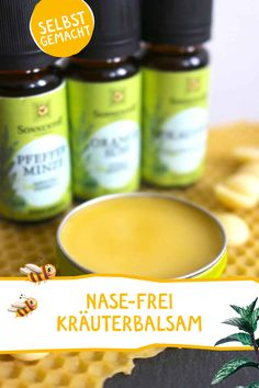 Nase-Frei-Kräuterbalsam - Nase-Frei-Kräuterbalsam DIY Hausmittel & Kräuter Tipps Say goodbye to cold with this homemade herbal balm – so that breathing is easy again! Younique, Yellow Vegetables, Hair Health, Diy Beauty, Home Remedies, Healthy Skin, Health And Wellness, The Balm, Herbalism