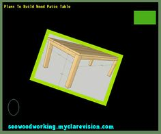 Plans To Build Wood Patio Table 075536   Woodworking Plans and Projects Free Patio Table Plans 093215   Woodworking Plans and Projects  . Patio Side Table Woodworking Plans. Home Design Ideas