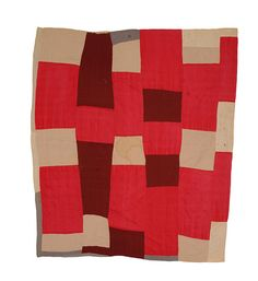 """limilee: """"Pieced Quilt by Susana Allen Hunter via daintytime, 1950-1955 """""""